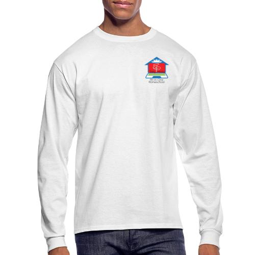 EP Logo with All-In-One Homeschool - Men's Long Sleeve T-Shirt