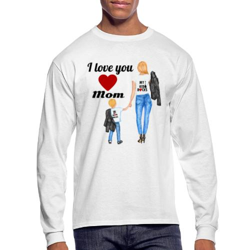 Mother's day gift from daughter, Mother's Day Gift - Men's Long Sleeve T-Shirt