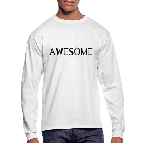 AWESOME - Men's Long Sleeve T-Shirt