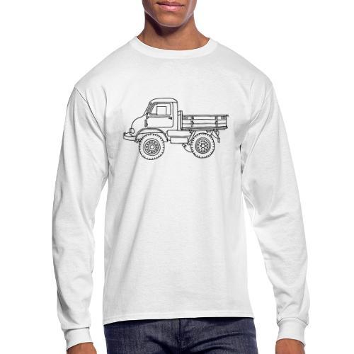 Off-road truck, transporter - Men's Long Sleeve T-Shirt