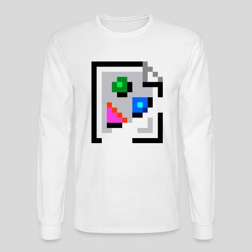 Broken Graphic / Missing image icon Mug - Men's Long Sleeve T-Shirt