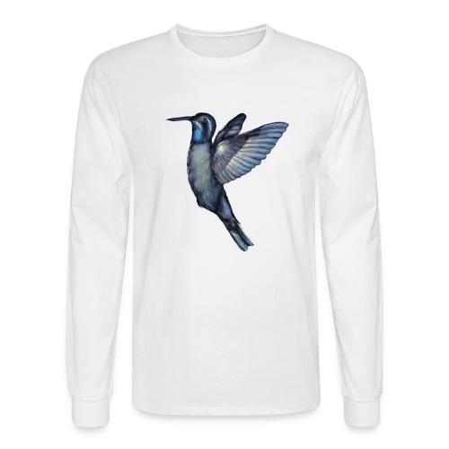 Hummingbird in flight - Men's Long Sleeve T-Shirt