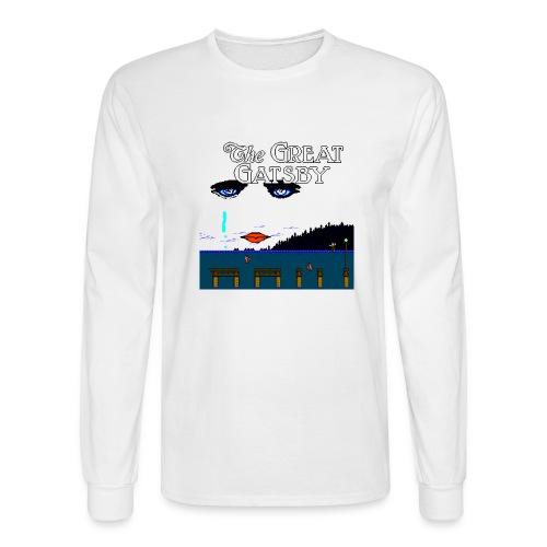 Great Gatsby Game Tri-blend Vintage Tee - Men's Long Sleeve T-Shirt