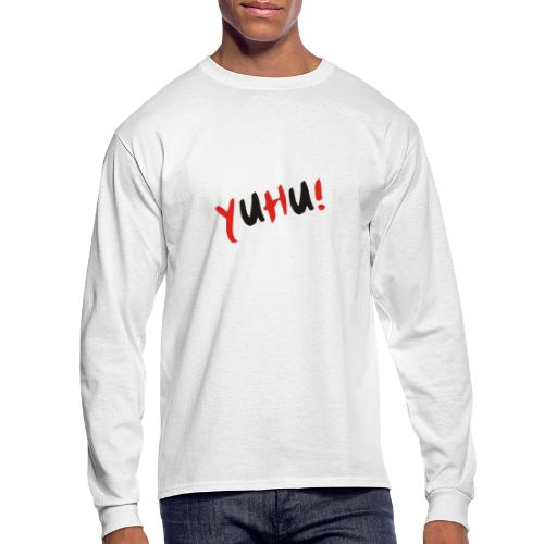 Yuhu! The design for young and smart generation - Men's Long Sleeve T-Shirt