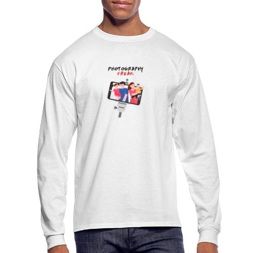 An exclusive design for photography freaks - Men's Long Sleeve T-Shirt