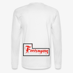 Forevayung on back - Men's Long Sleeve T-Shirt
