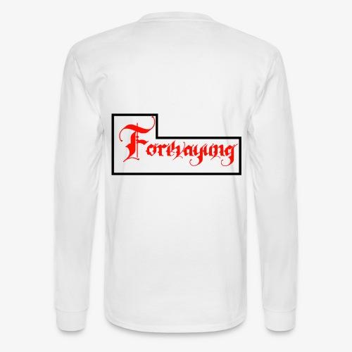 Forevayung on back - Men's Long Sleeve T-Shirt