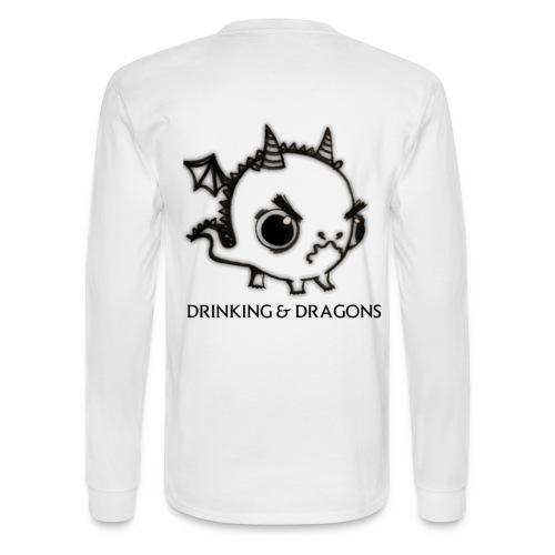 ANGRY DRAGON - Men's Long Sleeve T-Shirt