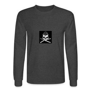Greaser skull - Men's Long Sleeve T-Shirt