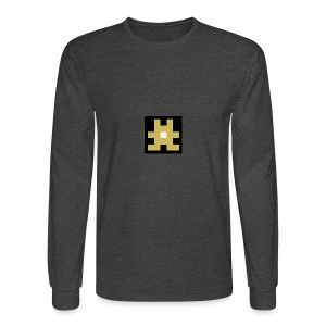 YELLOW hashtag - Men's Long Sleeve T-Shirt