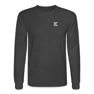 KikBackGamez Logo - Men's Long Sleeve T-Shirt