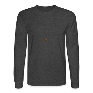 BIG CRAZY APPLE LOGO - Men's Long Sleeve T-Shirt