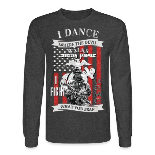I dance where the devil walks - Men's Long Sleeve T-Shirt