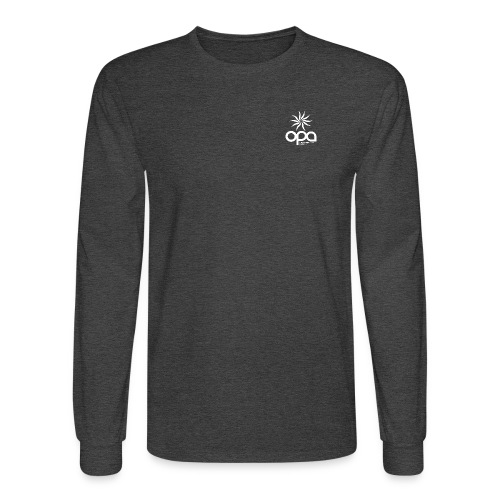 Long-sleeve t-shirt with small white OPA logo - Men's Long Sleeve T-Shirt