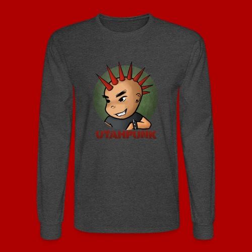 Utahpunk Logo - Men's Long Sleeve T-Shirt