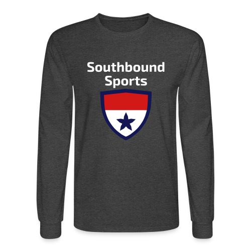 The Southbound Sports Shield Logo. - Men's Long Sleeve T-Shirt