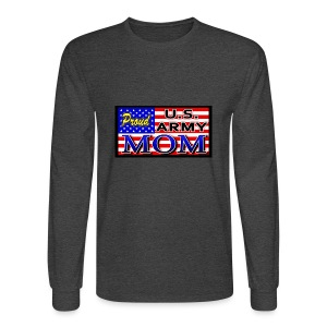 Proud Army mom - Men's Long Sleeve T-Shirt