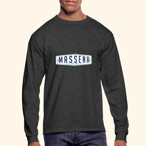Massena Plate - Men's Long Sleeve T-Shirt