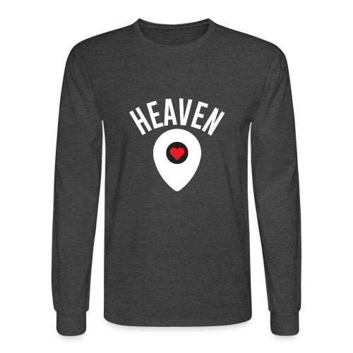 Heaven Is Right Here - Men's Long Sleeve T-Shirt