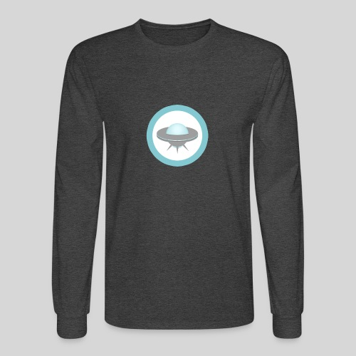 ALIENS WITH WIGS - Small UFO - Men's Long Sleeve T-Shirt