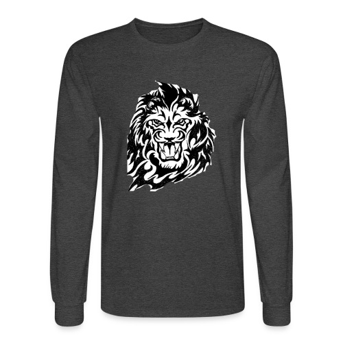 DP Branded-Lion - Men's Long Sleeve T-Shirt