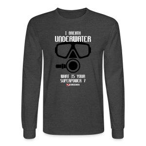 DIVER SCUBA fun - Men's Long Sleeve T-Shirt
