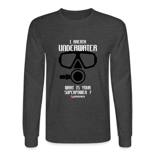 DIVER SCUBA fun - Men's Long Sleeve T-Shirt