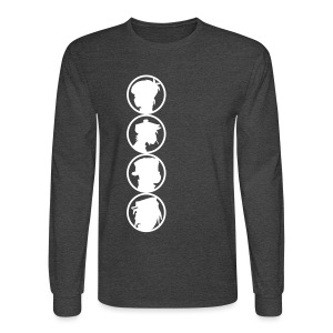 sillhouet - Men's Long Sleeve T-Shirt