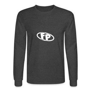 Secondary FRESHPOPCORN Logo - Men's Long Sleeve T-Shirt