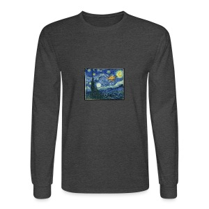 Starry Night Drone - Men's Long Sleeve T-Shirt