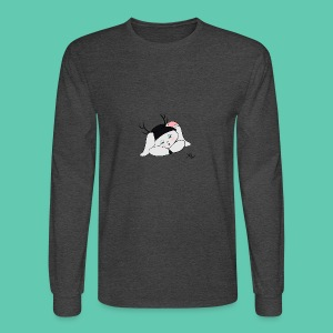 Sleepy Jackalope Annette - Men's Long Sleeve T-Shirt