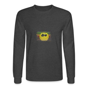 KEEP COOL SMILEY - Men's Long Sleeve T-Shirt