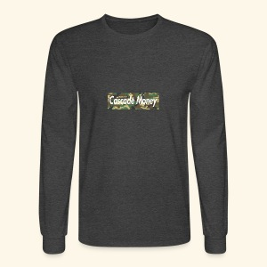 Cascade money camo - Men's Long Sleeve T-Shirt