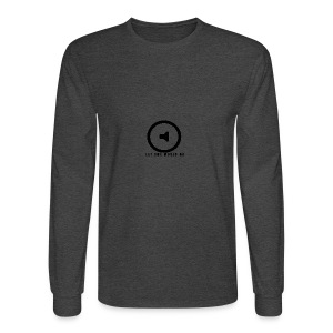 Let the music go - Men's Long Sleeve T-Shirt