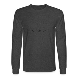 Waveforms_-1- - Men's Long Sleeve T-Shirt