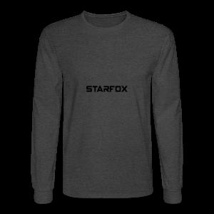 STARFOX Text - Men's Long Sleeve T-Shirt