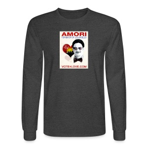 Amori for Mayor of Los Angeles eco friendly shirt - Men's Long Sleeve T-Shirt