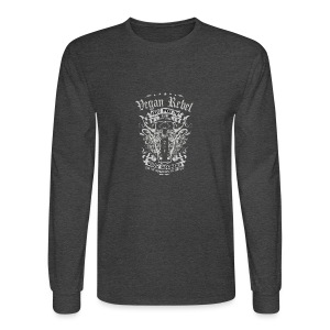 Vegan Rebel - Men's Long Sleeve T-Shirt