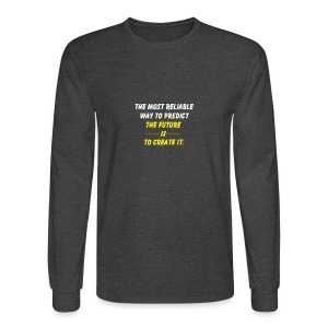 create the future - Men's Long Sleeve T-Shirt