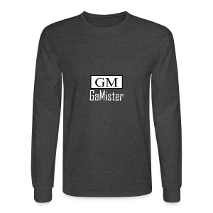 gamister_shirt_design_1_back - Men's Long Sleeve T-Shirt