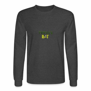 New Trojan Bat Logo - Men's Long Sleeve T-Shirt