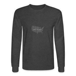 God is in America - Men's Long Sleeve T-Shirt