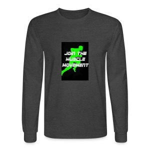 muscle movement - Men's Long Sleeve T-Shirt
