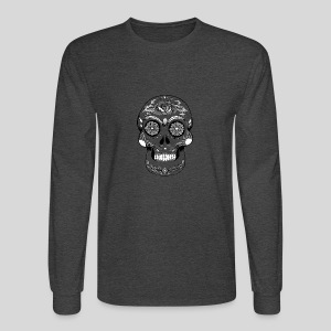 Catrina Black & White - Men's Long Sleeve T-Shirt