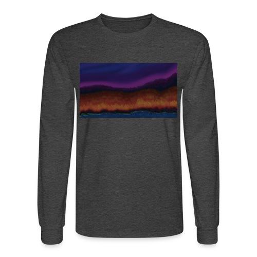 Fall Scene - Men's Long Sleeve T-Shirt