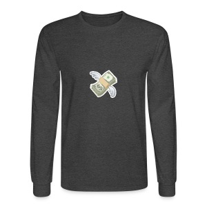 Money With Wings - Men's Long Sleeve T-Shirt