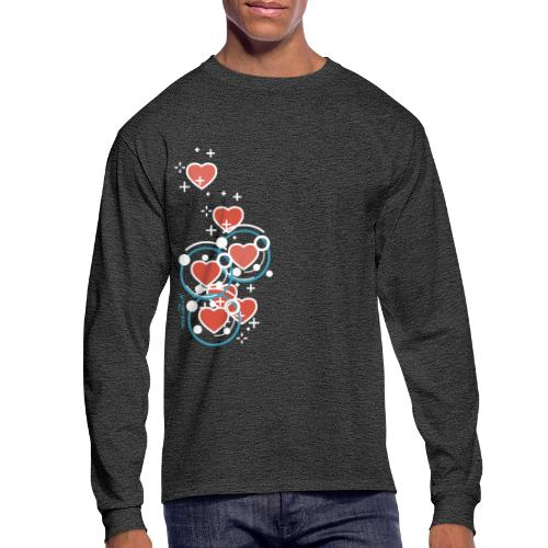 SuperHearts - Men's Long Sleeve T-Shirt