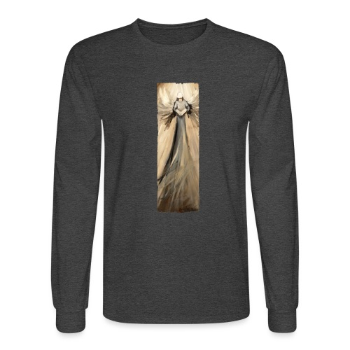 Long angel print_07_Ragge - Men's Long Sleeve T-Shirt