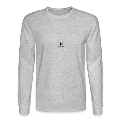 couple game over - Men's Long Sleeve T-Shirt