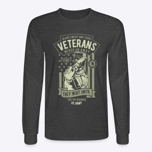 US Army Veterans - Men's Long Sleeve T-Shirt